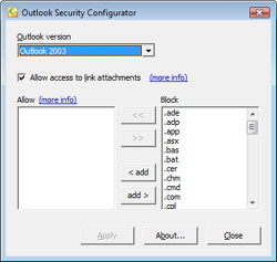 how to download attachment outlook potentially unsafe